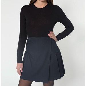 American Apparel School Girl Wrap Skirt